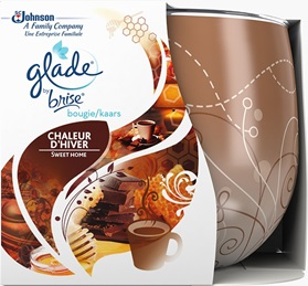 Glade® by Brise® Bougie Chaleur d'Hiver