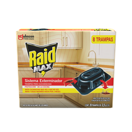 Raid® Max Kitchen Defense Roach Bait