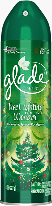 Glade® Aerosol Tree Lighting Wonder (interrumpido)