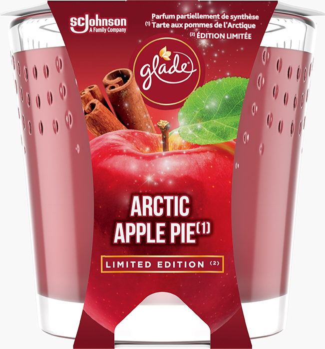 Glade® Kaars Arctic Apple Pie