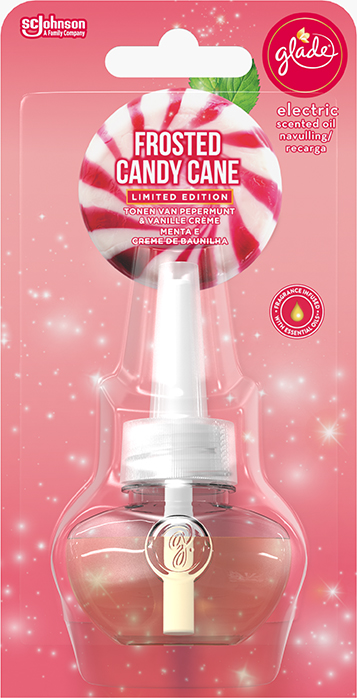 Glade® Electric Scented Oil Frosted Candy Cane