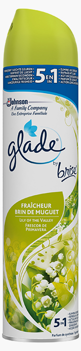 Glade® By Brise® Aerosol Lily of the Valley