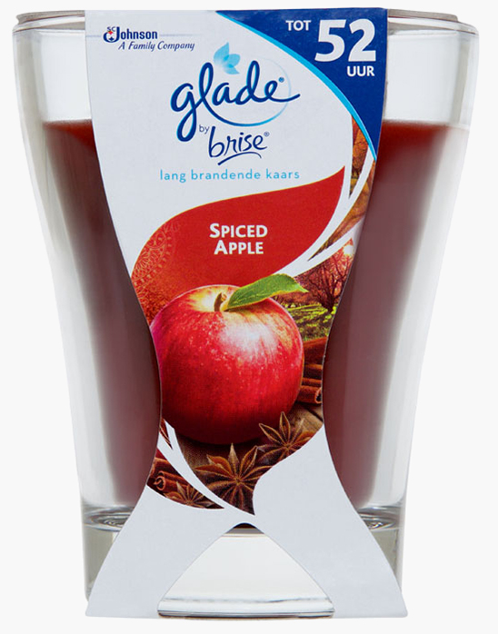 Glade® by Brise® Lang Brandende Kaars Spiced Apple