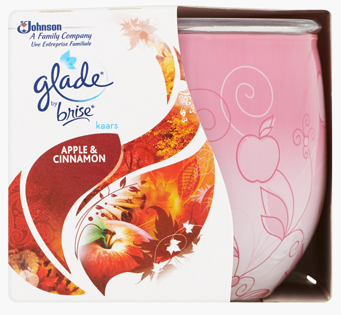 Glade® by Brise® Kaars Apple & Cinnamon