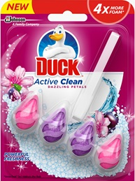 Duck® Active Clean Dazzling Petals