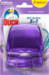 Duck® WC Active Purple Wave Refill