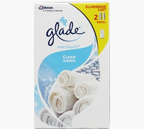 Glade® One Touch® Clean Linen Refill