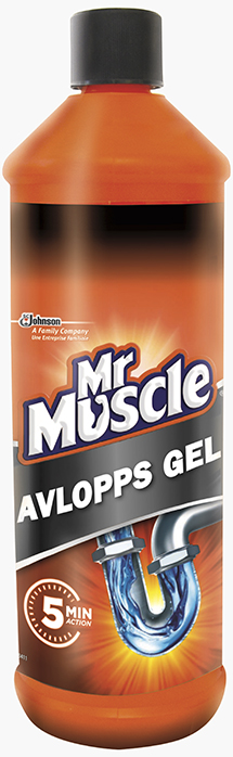 Mr muscle avlopps gel 1 liter sc johnson for Mr muscle idraulico gel