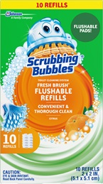 Scrubbing Bubbles® Fresh Brush™Toilet Cleaning System - Flushable Refills