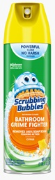 Scrubbing Bubbles® Bathroom Grime Fighter Aerosol - Citrus