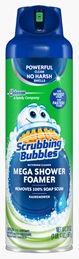 Scrubbing Bubbles® Mega Shower Foamer Aerosol - Rainshower®