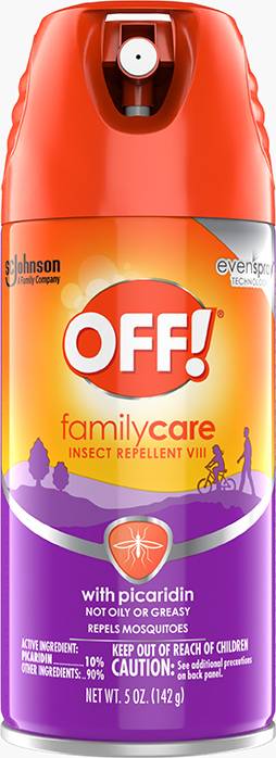 OFF!® FamilyCare Insect Repellent VIII (with Picaridin)