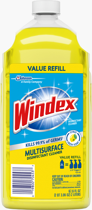 Windex® Disinfectant Cleaner - Citrus Fresh Refill