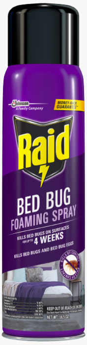 Raid® Bed Bug Foaming Spray
