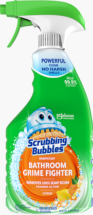 Scrubbing Bubbles® Disinfectant Bathroom Grime Fighter (Citrus)