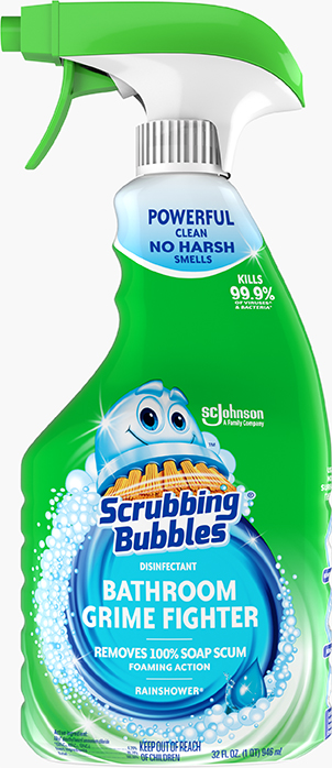 Scrubbing Bubbles® Disinfectant Bathroom Grime Fighter (Rainshower)