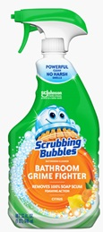 Scrubbing Bubbles® Bathroom Grime Fighter Spray - Citrus