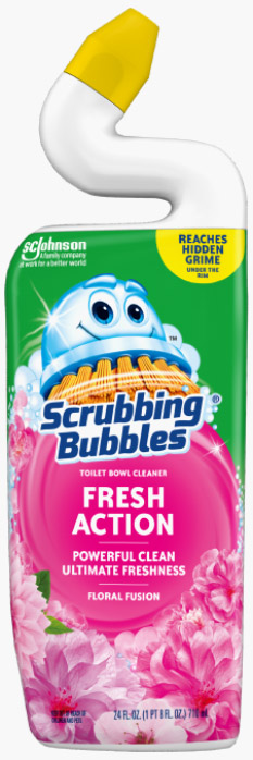 Scrubbing Bubbles® Fresh Action Toilet Bowl Cleaner - Floral Fusion