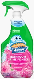 Scrubbing Bubbles® Bathroom Grime Fighter Spray - Floral Fusion