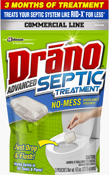 Drano® Commercial Line™ Advanced Septic Treatment