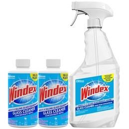 Windex® Glass Cleaner Mini Concentrates Starter Kit