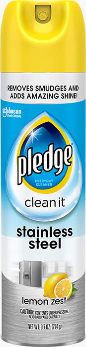 Pledge® Clean It Stainless Steel Cleaner & Polish
