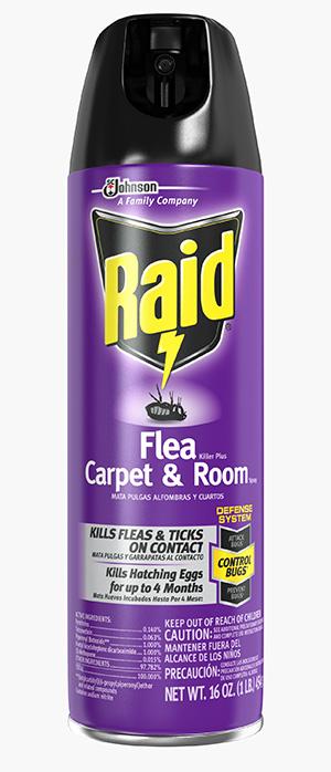 Raid Flea Plus Carpet And Room Spray Target
