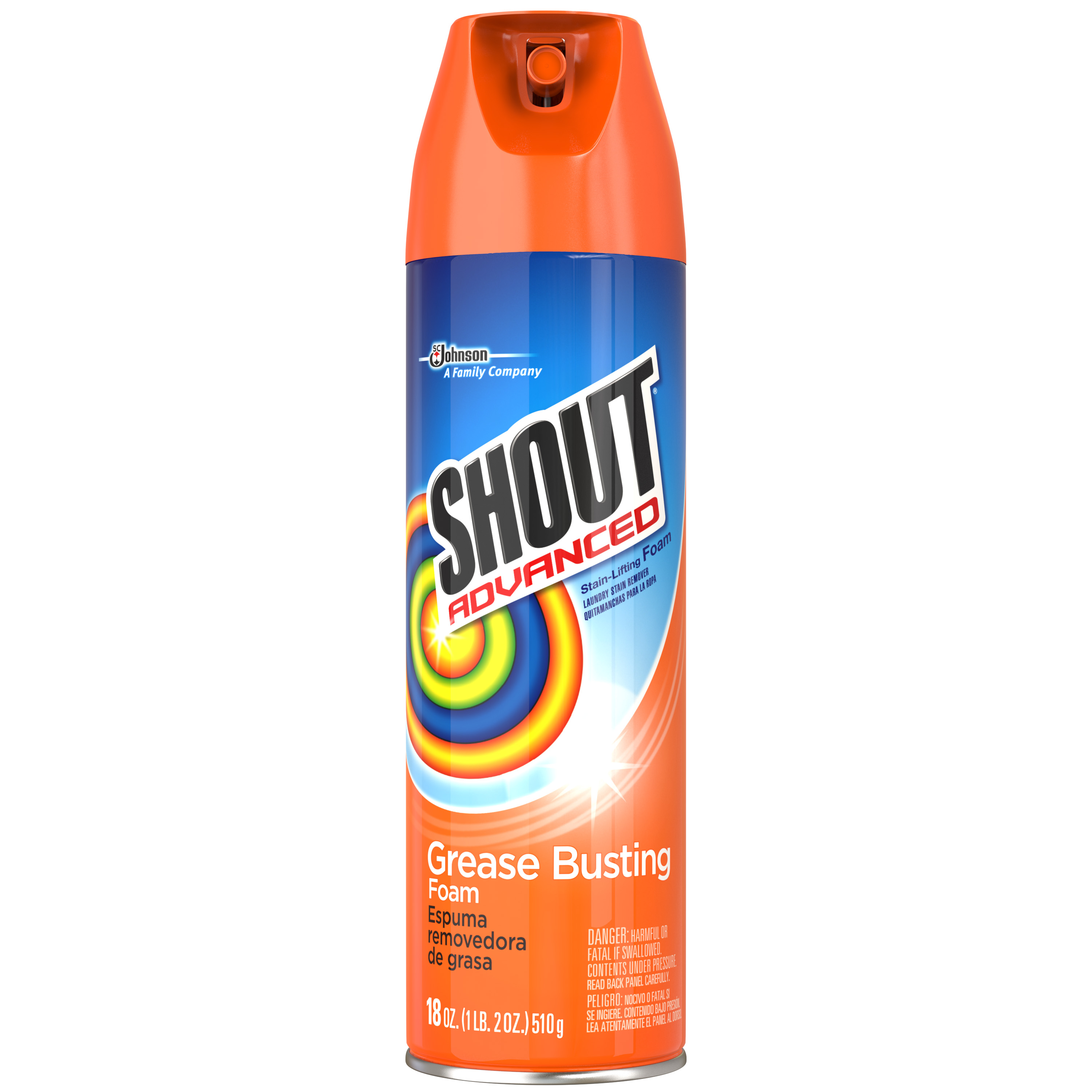 Shout® Advanced Stain-Lifting Foam