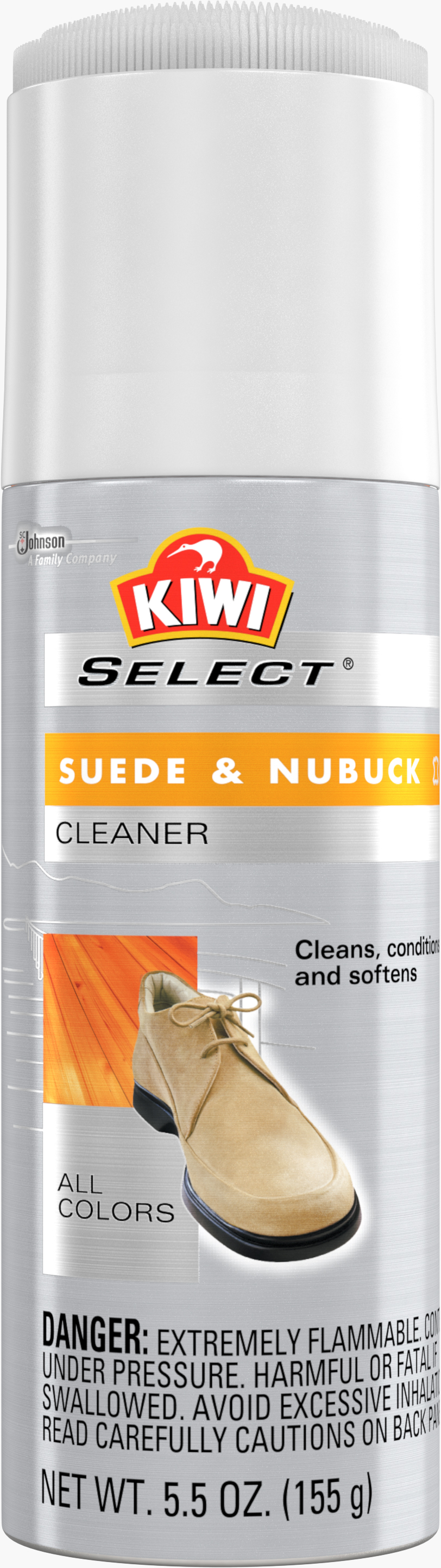 KIWI® Select Suede & Nubuck Cleaner