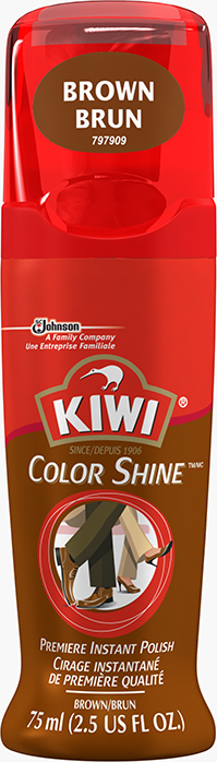 KIWI® Color Shine Brown