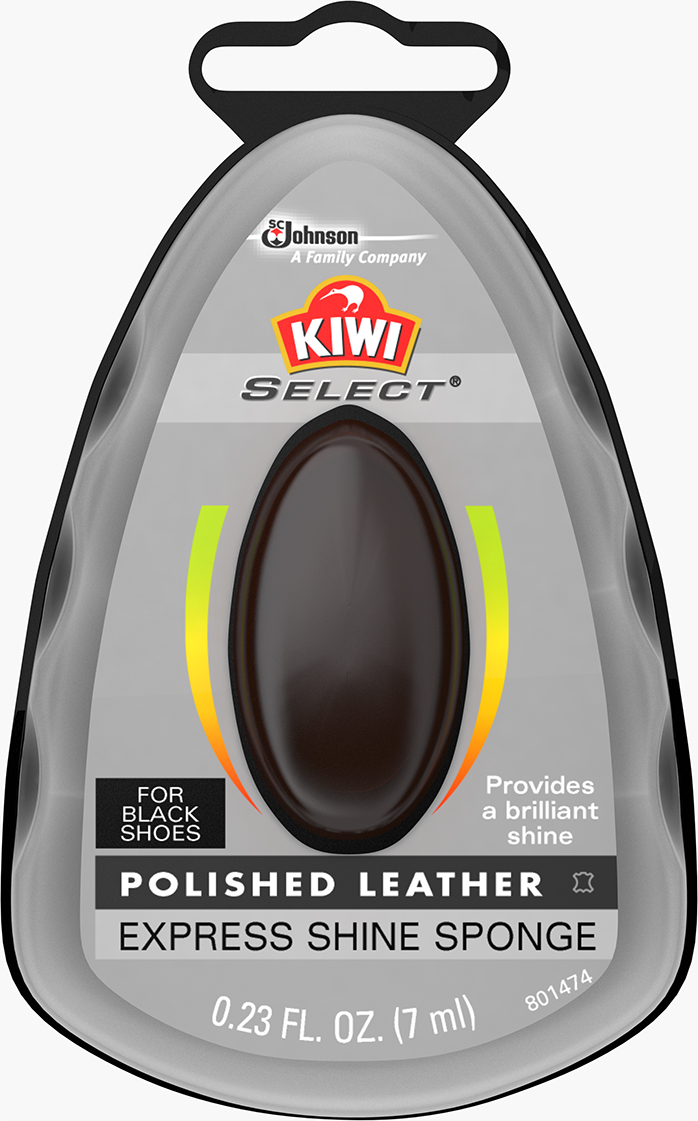 KIWI® Select Express Shine Sponge Black