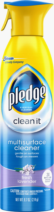 Pledge® Clean It Multisurface Everyday Cleaner Lavender Peach Blossom