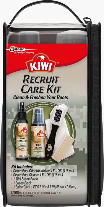 Military KIWI® Desert Boot Care Recruit Kit