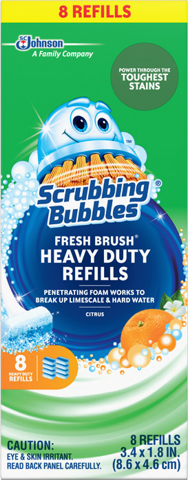 Scrubbing Bubbles® Fresh Brush® Heavy Duty Refills