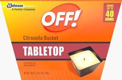 OFF!® Citronella Bucket