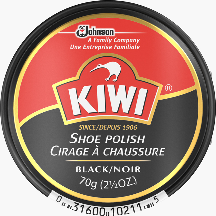 KIWI® Giant Shoe Polish Black