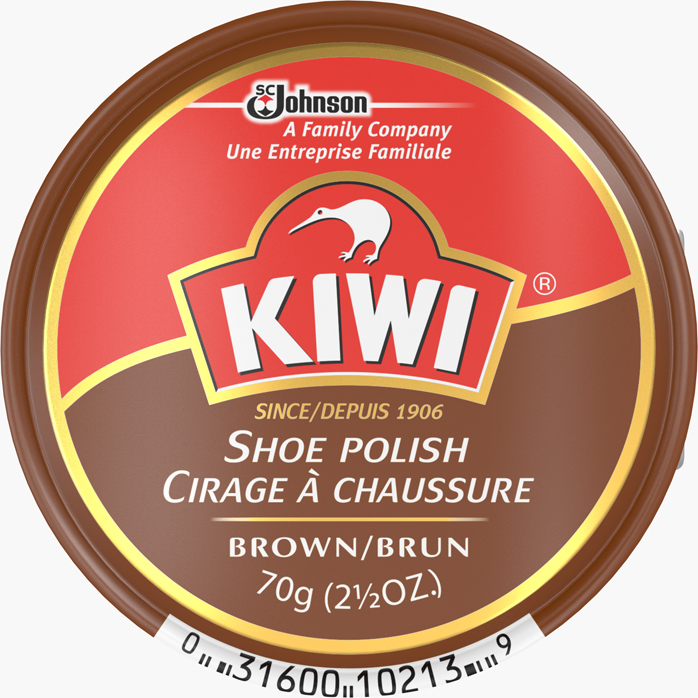 KIWI® Giant Shoe Polish Brown