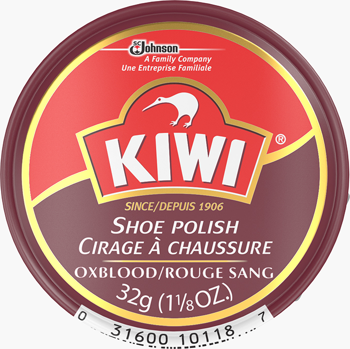 KIWI® Paste Polish Oxblood