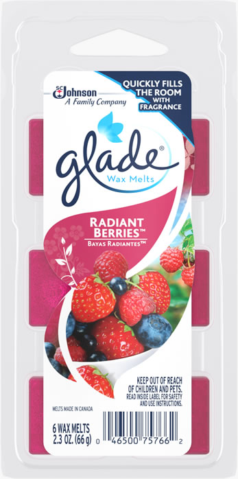 Glade® Wax Melts - Radiant Berries