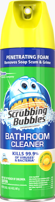Scrubbing Bubbles® Disinfectant Bathroom Cleaner - Fresh Citrus Scent