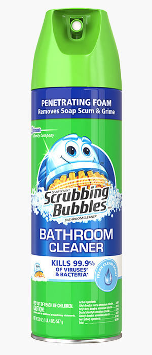 Antibacterial Scrubbing Bubbles® XXI Bathroom Cleaner - Fresh Scent