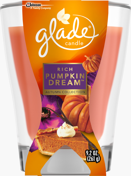 Large Candle - Rich Pumpkin Dream™