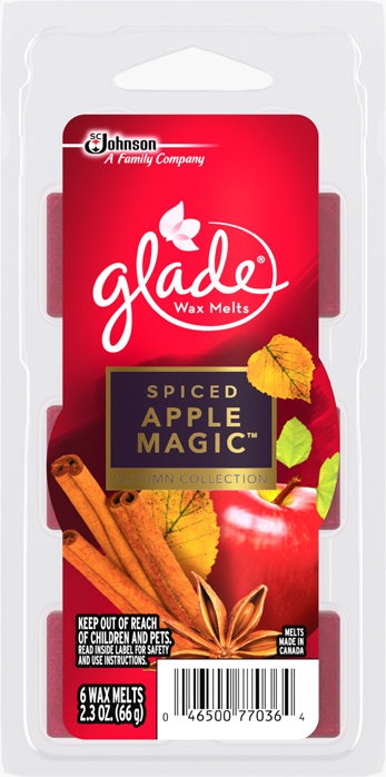 Glade® Wax Melts -   Spiced Apple Magic™