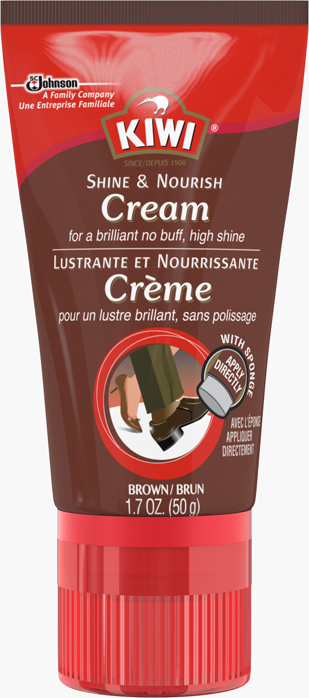KIWI® Shine And Nourish Cream Brown