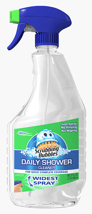 Scrubbing Bubbles® Daily Shower Cleaner - Rainshower®