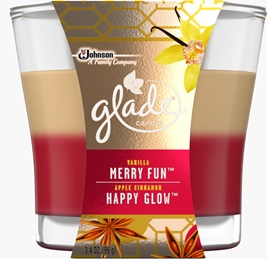 2 in 1 Candle -  Merry Fun™ & Happy Glow™