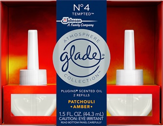 Glade® Atmosphere Collection™ PlugIns® Scented Oil Refills - Nᵒ4 Tempted™