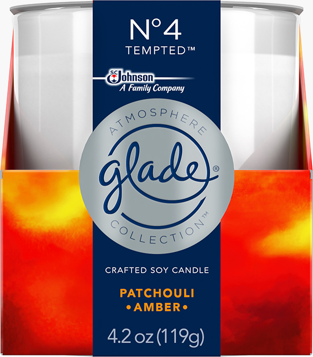 Glade® Atmosphere Collection™ Candle Nᵒ4 Tempted™