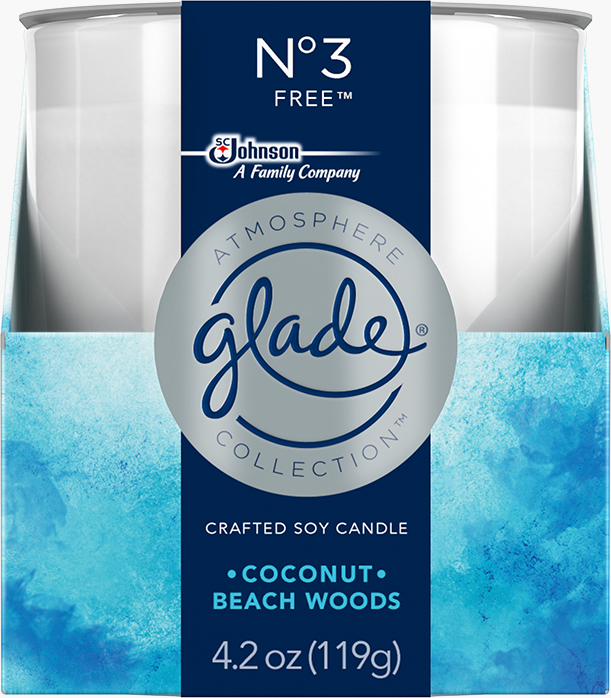 Glade® Atmosphere Collection™ Candle Nᵒ3 Free™