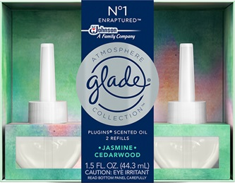 Glade® Atmosphere Collection™ PlugIns® Scented Oil Refills - Nᵒ1 Enraptured™